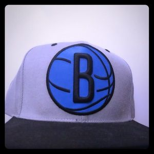 Brooklyn nets snap back hat